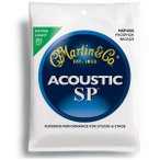 【送料無料】MARTIN(マーチン弦) 「MSP4000×1セット」エクストラライト・ゲージ  SP 92/8 Phosphor Bronze Extra Light Acoustic Guitar/MSP-4000