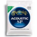 【送料無料】MARTIN(マーチン弦) 「MSP4000×8セット」エクストラライト・ゲージ  SP 92/8 Phosphor Bronze Extra Light Acoustic Guitar/MSP-4000