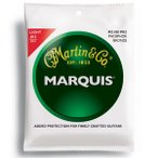 【送料無料】MARTIN(マーチン弦) 「M2100PK3×1パック」(3セット入り)ライト・ゲージ  Marquis 92/8 Phosphor Bronze Light Acoustic Guitar/M-2100Pack3