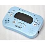 【送料無料】SEIKO(セイコー)デジタルメトロノーム&チューナー&ストップウォッチ STH100L:パールブルー