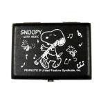 【送料無料】SNOOPY WITH MUSIC スヌーピーバンドコレクション リードケース オーボエ用リードケース 5本入 黒 SOB-05