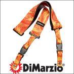 ショッピングストラップ DiMarzio ディマジオ ギター・ストラップ GUITAR STRAP DD2245 Steve Vai ClipLock - Orange Universe(オレンジ:OR)