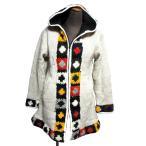 ホカホカ暖かエスニックコートアジアンエスニック衣料エスニックアジアンファッション