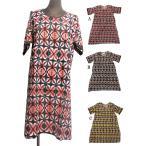 タイダイ風エスニックワンピースAラインエスニック衣料エスニックアジアンファッション