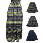 エスニックスカートレーヨンエスニック衣料エスニックアジアンファッション