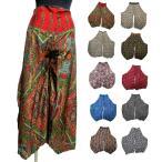 エスニックワイドパンツエスニック衣料エスニックアジアンファッション