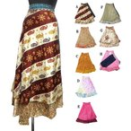 エスニックスカート巻きスカートエスニック衣料エスニックアジアンファッション