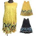 膝丈エスニックワンピースエスニック衣料エスニックアジアンファッション