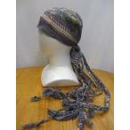 エスニックアジアンスカーフ、帽子、ヒッピー風エスニック衣料雑貨