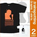 Tシャツ 映画トレインスポッティング レントン グラフィックT | Tシャツ 半袖 ユアン・マクレガー レントン ムービー イギリス映画 映画 トレインスポッティング