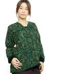 エスニックシャツブラウスレディースVネックぐるぐる柄エスニックファッションアジアンファッションエスニックシャツレディースシャツヒッピーインド