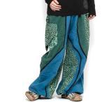 エスニックロングパンツメンズレディースエスニックファッションアジアンファッションアラジンパンツサルエルパンツゆったり履きやすいダンス衣装