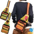 モン族バッグ刺繍ボディバッグワンショルダーバッグレディースメンズエスニックバッグ軽量かわいいアジアンパッチワーク