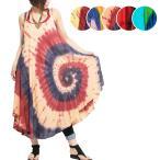 エスニックワンピースタイダイレディース5カラーエスニックファッションアジアンファッションキャミワンピかわいいゆったりカラフルヒッピー