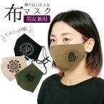 エスニック マスク 布 洗える 布マスク アジアン おしゃれ かわいい ワンポイント 大人 ハンドメイド 立体マスク アジアンマスク ガネーシャ デザイン