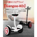 Yahoo!Gangooストア夏休み最終セール 台数限定 二刀流 ミニセグウェイ セグウェイ バランススクーター スマホアプリ スマホホルダー 永年修理サービス PSE 『Gangoo-KD』
