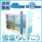 ショッピング沖縄 雪塩ちんすこう48個入り×5箱セット