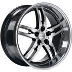 DONZ(ドンズ) ホイール BUGSY 20x8.5 タイヤ付 4本セット