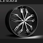 LEXANI(レクサーニ) ホイール ARTE 24インチ タイヤ付 4本セット