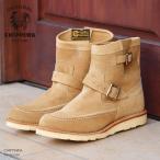 """sale CHIPPEWA チペワ エンジニアブーツ 7""""ハイランダー カーキ モカシン ブーツ  width"""