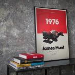[50 x 70 cm] McLaren M23 - James Hunt - Marlboro - Japanese GP - 1976 -
