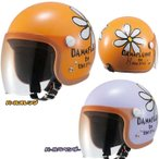 ダムトラックス FLOWER JET フラワージェット ナンカイコラボ レディースジェットヘルメット DANNTRAX 南海部品 女性用