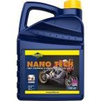 Putoline バイク用 4サイクルエンジンオイル 4L [NANO TECH 4+] 10W-60 SM(MA2) 100%化学合成油