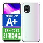 SIMフリー XIG01 Mi 10 Lite 5G ドリームホワイト 中古 本体 ほぼ新品 スマホ au あすつく 保証あり xig01w9mtm