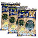 送料無料 ゴールド蘭 15Lx3袋(45L) 中粒 東洋蘭培養土(焼赤玉土+焼鹿沼土) 春蘭 寒蘭 エビネ 野生らんらん