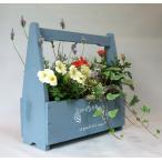 キャリーコンテナ季節の寄せ植え(おまかせ) 玄関先に置いたら素敵! 届いたその日からお花がいっぱい!