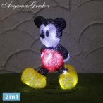 イルミ LED ライト 屋外 クリスマス ディズニー Disneyzone タカショー / 3Dクリスタルモチーフ ウォーキング ミッキーマウス /A