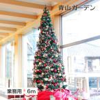 ショッピングクリスマスツリー クリスマスツリー 業務用/大型 クリスマスツリー スタンドタイプ 6m グリーン