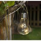 コンセントも電池もいらない【ミニ】電球型LEDソーラーライト(HT6006 ミニ)ガーデニングのイルミネーション