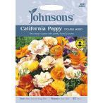 【輸入種子】 Johnsons Seeds Californian Poppy(Eschscholzia) Double Mixed カリフォルニアポピー (エスコルシア) ダブル・ミックス ジョンソンズシード