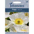 Yahoo!Gardener s shop Ivy【輸入種子】Johnsons Seeds Poppy Bridal Silk ジョンソンズシード ポピー・ブライダル・シルク