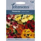 【輸入種子】Johnsons Seeds Nemesia Carnival Mixed ジョンソンズシード ネメシア・カーニバル・ミックス