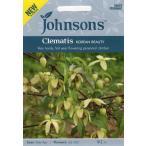 Johnsons SeedsWorld Botanics CollectionClematis chiisanensis Korean Beautyワールド ボタニクスクレマチス コリアン ビューティの種