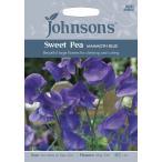 輸入種子  Johnsons Seeds Sweet Pea MAMMOTH BLUE スイート ピー マンモス ブルー ジョンソンズシード