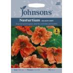 【輸入種子】 Johnsons Seeds Nasturtium Salmon Baby ナスターチウム・サーモン・ベビー ジョンソンズシード
