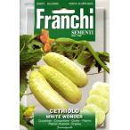 【輸入種子】 FRANCHI SEMENTI CETRIOLO WHITE WONDER 白ミニキュウリ フランチ社