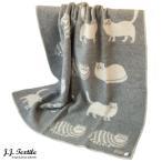 ショッピングブランケット ブランケット 130×180cm CAT キャット J.J. Textile Blanket