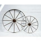 【在庫一掃セール】38%OFF オーナメント用車輪 L 直径74*奥行4cm