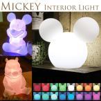 ミッキー フロアライト ディズニー クリスマス やさしく光る インテリアライト クリスマス LED 間接照明