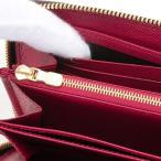 ルイヴィトン 財布 レディース 長財布 ラウンドファスナー ジッピー ウォレット モノグラム フューシャ M41895 LOUIS VUITTON 新品