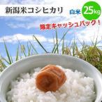 新潟県限定新潟米コシヒカリ白米25kg新潟産こしひかり新潟県の方は5%キャッシュバックキャンペーン