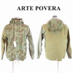 ARTE POVERA(アルテポーヴェラ),リメイク迷彩 ミリタリージャケット