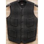 (ダブルアールエル) RRL インディゴ ジャガード ニット ベスト メンズ Indigo Jacquard Knit Vest