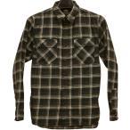 (ダブルアールエル) RRL プラッド コットン ワークシャツ ブラック メンズ Plaid Cotton Twill Shirt