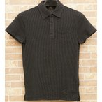 (ダブルアールエル) RRL ブラックインディゴ フレンチテリー ポロシャツ メンズ Indigo French Terry Polo Shirt