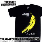 THE VELVET UNDERGROUND ヴェルヴェット・アンダーグラウンド BA-0010-BK THE VELVET UNDERGROUND & NICO TEE バンド